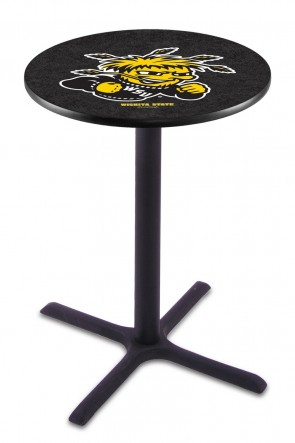 Wichita State L211 Logo Pub Table