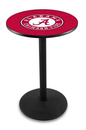 Alabama L214 A-Script Logo Pub Table