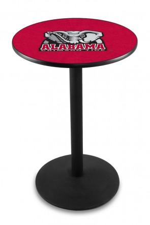 Alabama L214 Elephant Logo Pub Table