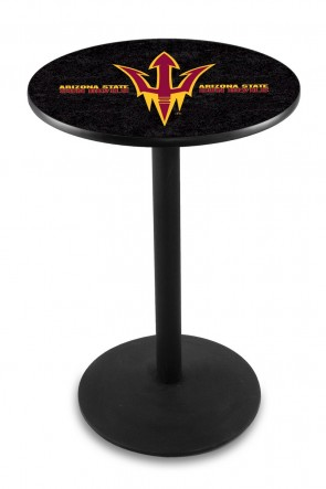 Arizona State L214 Pitchfork Logo Pub Table