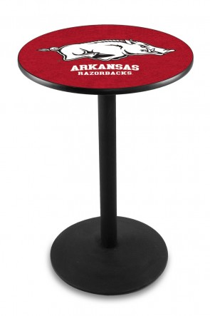 Arkansas L214 Logo Pub Table