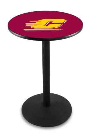 Central Michigan L214 Logo Pub Table