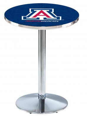 Arizona Chrome L214 Logo Pub Table