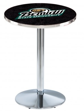 Bemidji State Chrome L214 Logo Pub Table