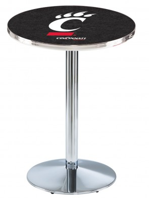 Cincinnati Chrome L214 Logo Pub Table