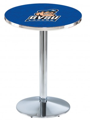 Grand Valley State Chrome L214 Logo Pub Table