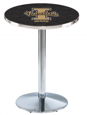 Idaho Chrome L214 Logo Pub Table