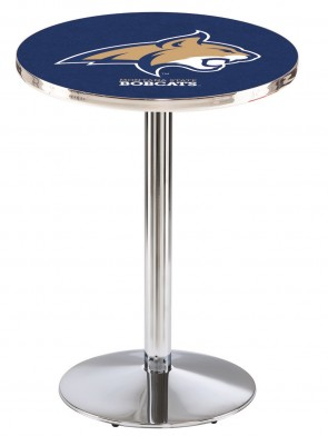 Montana State Chrome L214 Logo Pub Table