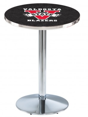 Valdosta State Chrome L214 Logo Pub Table