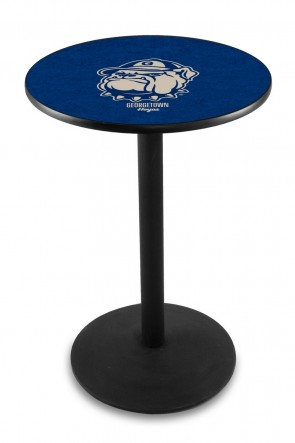 Georgetown L214 Logo Pub Table