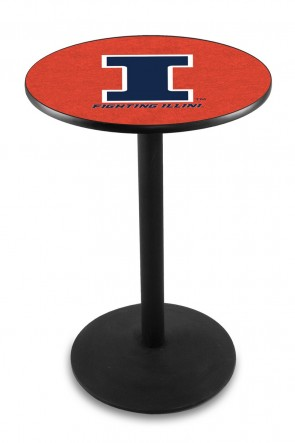 Illinois L214 Logo Pub Table