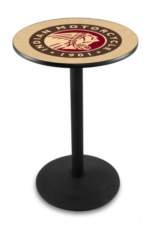 Indian Motorcycles L214 Logo Pub Table