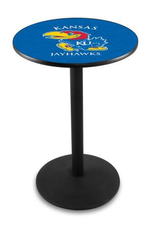 Kansas L214 Logo Pub Table
