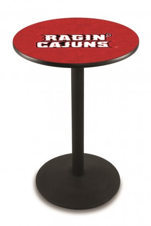 Louisiana at Lafayette L214 Logo Pub Table
