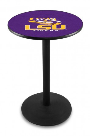 Louisiana State L214 Logo Pub Table