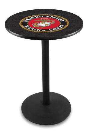 US Marine Corps L214 Logo Pub Table