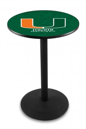 Miami L214 Logo Pub Table
