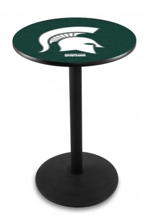 Michigan State L214 Logo Pub Table