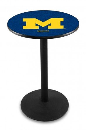 Michigan L214 Logo Pub Table