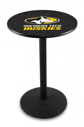 Michigan Tech L214 Logo Pub Table
