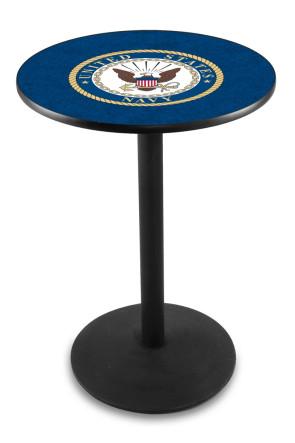 US Navy L214 Logo Pub Table