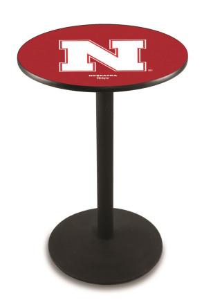 Nebraska L214 Logo Pub Table