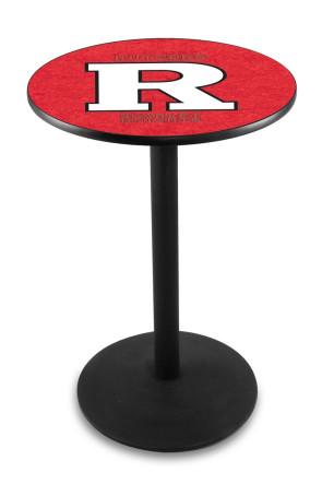 Rutgers L214 Logo Pub Table