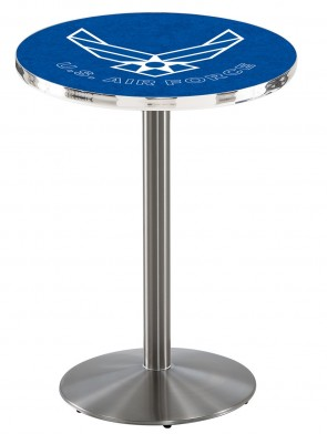 US Air Force SS L214 Logo Pub Table
