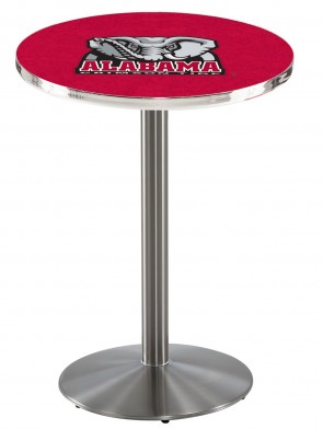 Alabama SS L214 Elephant Logo Pub Table