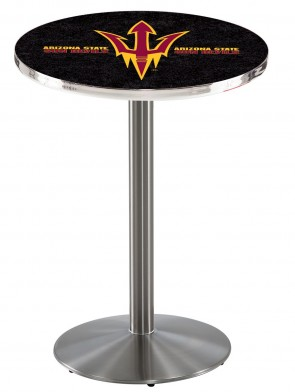 Arizona State SS L214 Pitchfork Logo Pub Table