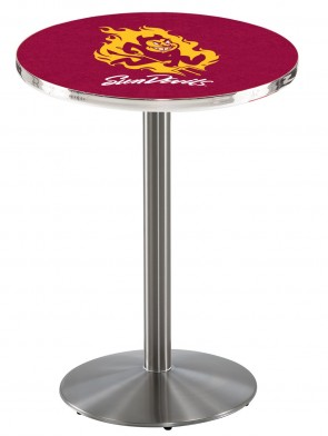 Arizona State SS L214 Sparky Logo Pub Table