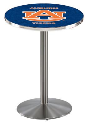 Auburn SS L214 Logo Pub Table