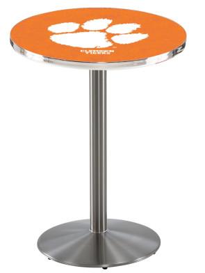 Clemson SS L214 Logo Pub Table