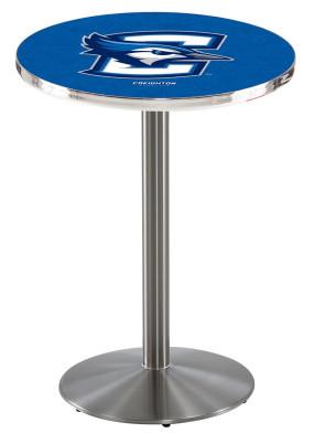 Creighton SS L214 Logo Pub Table