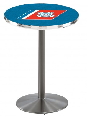 US Coast Guard SS L214 Logo Pub Table