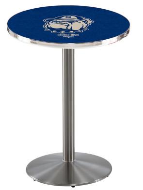 Georgetown SS L214 Logo Pub Table