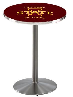 Iowa State SS L214 Logo Pub Table