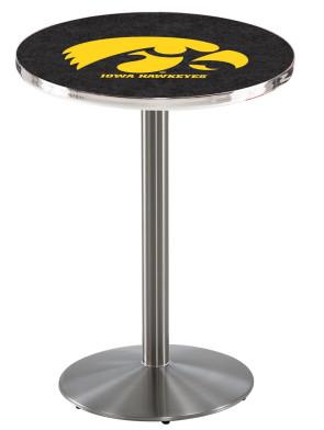 Iowa SS l214 Logo Pub Table