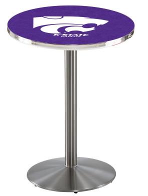 Kansas State SS L214 Logo Pub Table