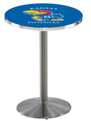 Kansas SS L214 Logo Pub Table