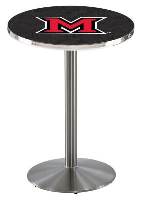 Miami of Ohio SS L214 Logo Pub Table