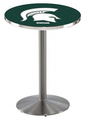 Michigan State SS L214 Logo Pub Table