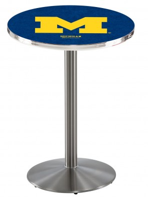 Michigan SS L214 Logo Pub Table