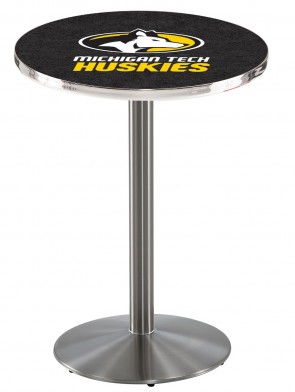 Michigan Tech SS L214 Logo Pub Table