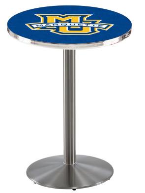 Marquette SS L214 Logo Pub Table