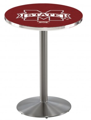Mississippi State SS L214 Logo Pub Table