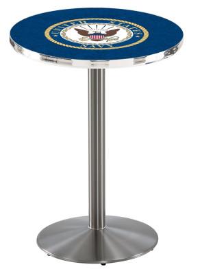 US Navy SS L214 Logo Pub Table