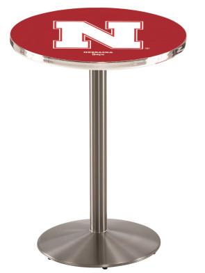 Nebraska SS L214 Logo Pub Table