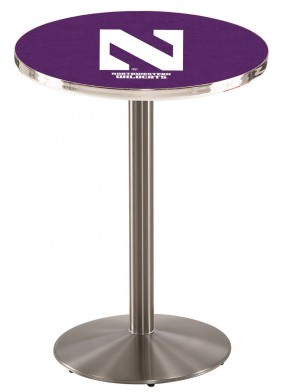 Northwestern University SS L214 Logo Pub Table
