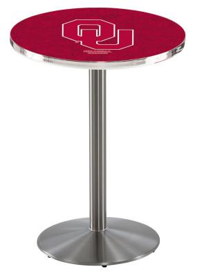 Oklahoma SS L214 Logo Pub Table